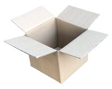Spezialkarton DHL Päckchen SMALL, 150x150x135mm 1wellig Dickwelle