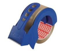 TESA Klebeband Packband tesapack 57424 mit praktischem Abroller, braun