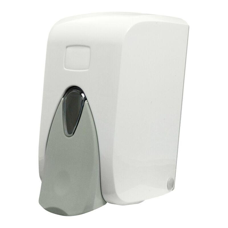 1 pack seifenspender f r fl ssigseifen 500 ml wei. Black Bedroom Furniture Sets. Home Design Ideas