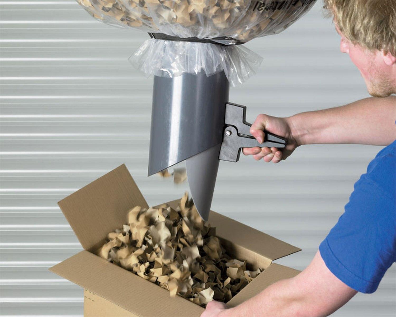 Papier-Verpackungschips Polster- Papierchips 100% recycling 400 Liter