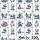 Geschenkpapier Mainstream 100 cm x 250 m | Motiv 200 Windmühle