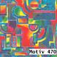 Geschenkpapier Mainstream  40 cm x 200 m   Motiv 470 Ornament Wasserfarben