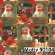 Weihnachtsgeschenkpapier 30 cm x 200 m   Motiv 90104 Weihnachtsmann