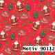 Weihnachtsgeschenkpapier 50 cm x 200 m | Motiv 90112 Weihnachtsmann
