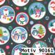 Weihnachtsgeschenkpapier 40 cm x 200 m | Motiv 90161 Schneemann Snowman