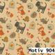 Geschenkpapier Special Giftwrap  30 cm x 200 m | Motiv 904 Tiere Hund Katze
