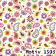 Geschenkpapier Special Giftwrap  30 cm x 100 m | Motiv CHR1503 Paisley