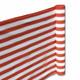 Balkon Terrassen Sichtschutz 90cm x 5m terra-weiß wetterfest UV Schutz langlebig