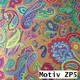 Geschenkpapier Prestige metallisiert  50 cm x 100 m | Motiv ZP5 Paisley Muster