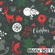 Weihnachtsgeschenkpapier 40 cm x 200 m | Motiv 90113