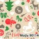 Weihnachtsgeschenkpapier 40 cm x 200 m | Motiv 90114