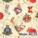 Weihnachtsgeschenkpapier Weihnachtspapier  30 cm x 200 m | Motiv 90135
