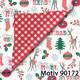 Weihnachtsgeschenkpapier Weihnachtspapier  30 cm x 200 m | Motiv 90172