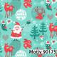 Weihnachtsgeschenkpapier 40 cm x 200 m | Motiv 90175