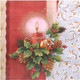 Weihnachtsservietten 3-lagig 33 x 33 cm Weihnachtsgesteck 2 | 20 Stk.