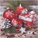 Weihnachtsservietten 3-lagig 33 x 33 cm Weihnachtsschmuck 2 | 20 Stk.